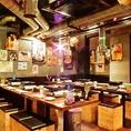 貸切人数は50名様~75名様まで対応しておりますので渋谷で大人数の宴会、飲み会をされる際には是非当店をご利用ください!
