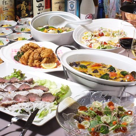 【高層階から大阪全体を一望】最大150名宴会可!西本町一番の大箱レストラン