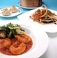 バラエティ豊かな食材と味付け。本格的中華コースをランチでお手軽にお楽しみいただけます。3,800 円(税込)