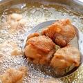 料理メニュー写真楽の自家製から揚げ