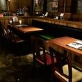 4名様用テーブル席×2