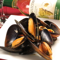 料理メニュー写真ムール貝の酒蒸し