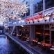 高瀬川沿いの開放的な空間