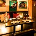 少人数の女子会や中規模の宴会にも最適◎木の温もり溢れる個室空間♪お席は人数に応じたお席をご用意しております♪お食事はもちろん、飲み会や宴会、女子会,誕生日会などにも是非ご利用ください