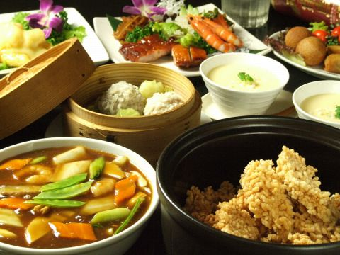 ≪中華料理♪≫[個室あり][大小宴会◎][飲み放題付きコース♪][女子会・ご家族連れ◎]