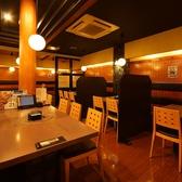 様々なタイプのテーブル席ご用意しております。仕事帰りやご家族でのお食事・飲み会に是非♪[江坂 居酒屋 個室]