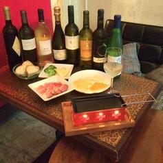 ワインマルシェのコース写真