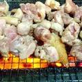 料理メニュー写真種鶏ももの炭火焼