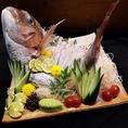 歓送迎会や特別な記念日に☆ご要望に応じて鯛の姿造りもご用意できます!是非お問い合わせください☆