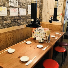 和牛 ホルモン 焼肉 こたつ 東加古川店の雰囲気1