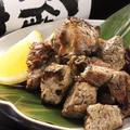 料理メニュー写真赤鶏のぶつ切り網焼き