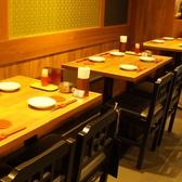 4名様向けテーブル席