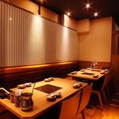 清潔感ある明るい雰囲気の店内♪プライベート感覚でくつろげます。大阪ミナミ心斎橋エリアでの歓迎会・送別会・歓送迎会などの各種ご宴会は、食べ放題飲み放題プラン充実のしゃぶしゃぶ温野菜におまかせください!