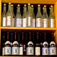 常連のお客様向けのボトルキープサービスを行っております。