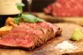 料理メニュー写真30日間発酵熟成 国産牛「イチボ」のポワレ 150g