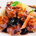 料理メニュー写真酢豚/黒酢の酢豚