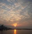 海辺ならでは‥夕日も美しいです。。。