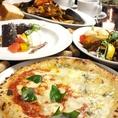 【女子会に】ピザもパスタも食べたい!飲み放題付の欲張り女子会3950円