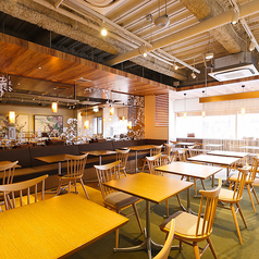宴会大歓迎♪全てのテーブルを繋げることが出来る為、人数に応じて席をご用意させていただきます!
