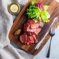料理メニュー写真やわらか牛ハラミのステーキ~ふわふわマッシュポテトを添えて~