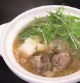 料理メニュー写真牛すじ豆腐のザーサイ仕立て