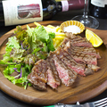 料理メニュー写真Grape beef sirloin Bistecca