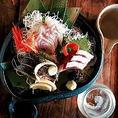 ●三浦港から直送の朝採れ鮮魚は絶品です!