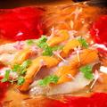 料理メニュー写真真鯛と生うにのカルパッチョ