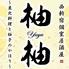 柚柚 yuyu 西新宿店のロゴ