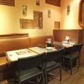 【川崎】【JR川崎駅徒歩2分!】会社宴会や女子会やママ会などの少人数様~大人数様まで人数に応じてレイアウトの変更が可能です。大人数様の場合は一度、店舗までご相談いただけますとご対応させていただきます。