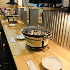 【カウンター席】1人焼肉&カップルでの焼肉人気!