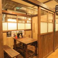 昭和21年の小学校を再現したお部屋は全て個室教室!