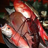 当店の魚介類は鮮度抜群
