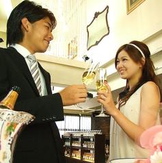 新郎新婦様・ゲストの方が楽しんでいただけるように精一杯おもてなし致します。