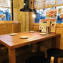 【テーブル席2】