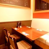 4名~6名様テーブル席。ご家族、仲間同士でのお食事にオススメです!