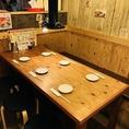 【テーブル席3】