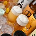 単品飲み放題はクーポン利用で月~金1000円♪串かつと一緒にお楽しみください!