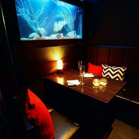◆落ち着いた雰囲気のリゾート個室◆