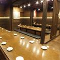 会社宴会や大型団体宴会も大歓迎です!宴会なら「ミライザカ JR亀戸駅前店」にお任せください。