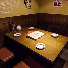 【テーブル席】デートや少人数宴会にも♪