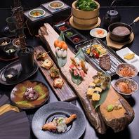 忍術料理も盛りだくさん!楽しくて美味しいお食事ご用意