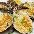 料理メニュー写真牡蠣の香草チーズパン粉焼き