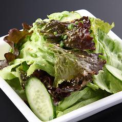 料理メニュー写真縁サラダ