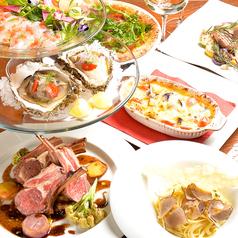 Itary cucina A's イタリー クッチーナ アズのコース写真