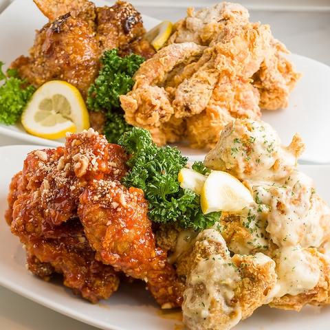 名物KKOTBING Chickenを!【ライトコース】3278円(税込)90分飲み放題付き
