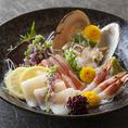 ★四季折々の旬食材を活かした贅沢な海鮮が勢揃い★