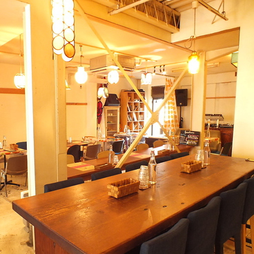 ビオ オジヤン カフェの雰囲気1