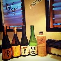 日本酒・焼酎が豊富♪