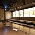 【最大30名様可能】一番大きな個室席は最大30名様までのご宴会が可能です!掘りごたつは団体宴会の特権♪広々とした完全個室のお席でお楽しみください。お部屋に限りがございますので、ご利用の際にはお早目のご相談がおすすめです。